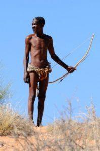 Kalahari Bushman
